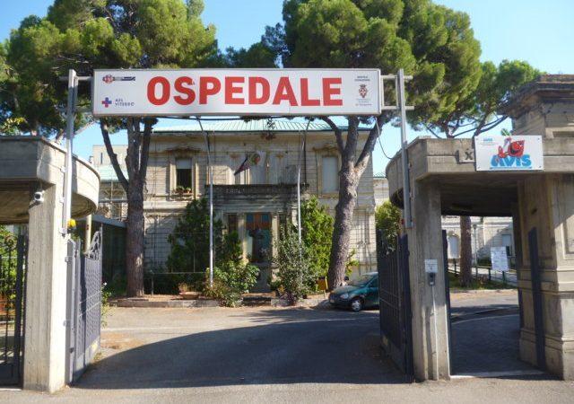 L'EPIDEMIA FA CHIUDERE L'OSPEDALE DI TARQUINIA. NESSUN POSITIVO AI TAMPONI