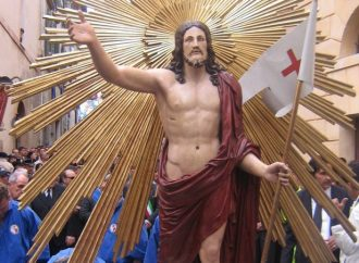 OGGI POMERIGGIO FACCIAMO RISUONARE LA MARCIA DEL CRISTO RISORTO