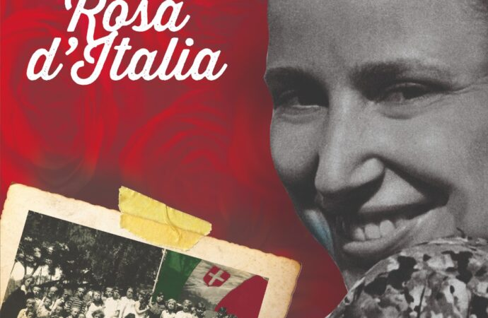 Il tarquiniese Silvano Olmi rende omaggio a Norma Cossetto, Rosa d'Italia