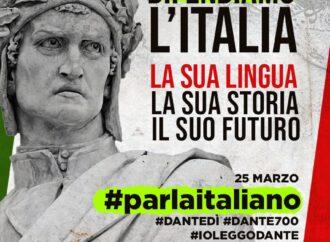 #parlaitaliano, Noi stiamo con Dante e la Lingua Italiana, e tu?